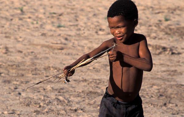 Bushman Children