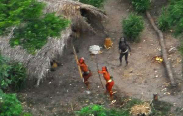 uncontacted indians