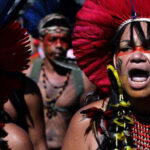 Protest against genocidal attack on indigenous peoples